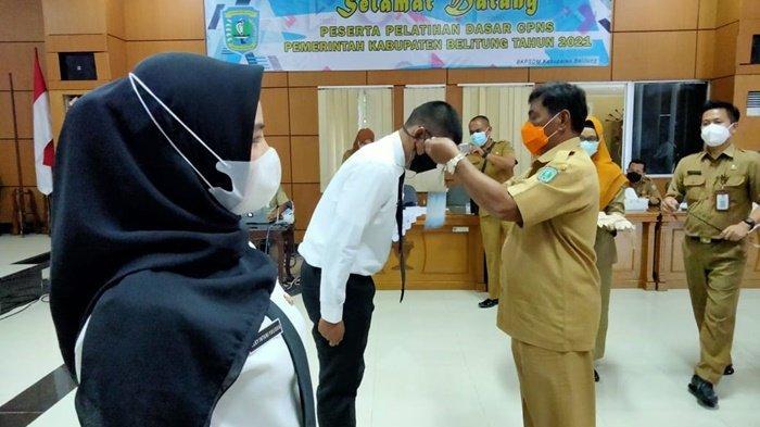 Buka Pelatihan Dasar, Ini Pesan Bupati Belitung untuk CPNS