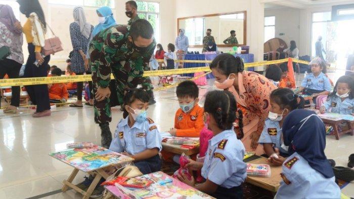 Kenalkan Kedirgantaraan ke Anak, Yasarini Cabang Lanud H AS Hanandjoeddin Gelar TK Angkasa Expo 2021