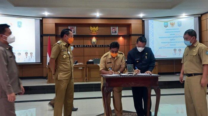 Pulau Belitung jadi Unesco Global Geopark, Belitung dan Belitung Timur Kerjasama Pembangunan Daerah