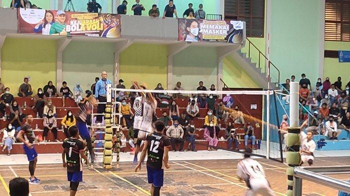 Tutup Kejuaraan Bola Voli, Ketua PBVSI Belitung: Turnamen Ajang Jalin Silaturahmi dan Pemersatu