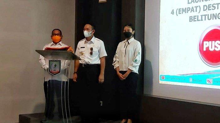 Launching Empat Paket Wisata, Ini Pesan Bupati Belitung Timur kepada Pelaku Wisata