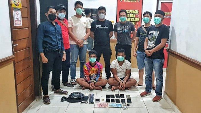 Maling Gondol 13 Handphone di Rumah Warga, Tim Panah Polres Belitung Timur Tangkap Dua Pemuda