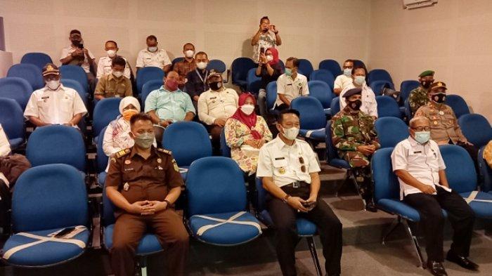 Suasana di Pusat Informasi Geologi (PIG) Pulau Belitung, di Kelapa kampit, sebelum launching Empat Paket wisata geosite di Beltim. Rabu (9/6/2021)