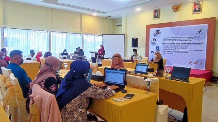 Nomor Izin Edar Bisa Keluar Dalam Sehari, Loka POM Belitung Sosialisasi Pendaftaran Legalitas Produk