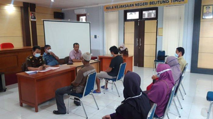Kejari Belitung Timur Gunakan Restorative Justice Penyelesaian Perkara Konflik Tetangga di Gantung