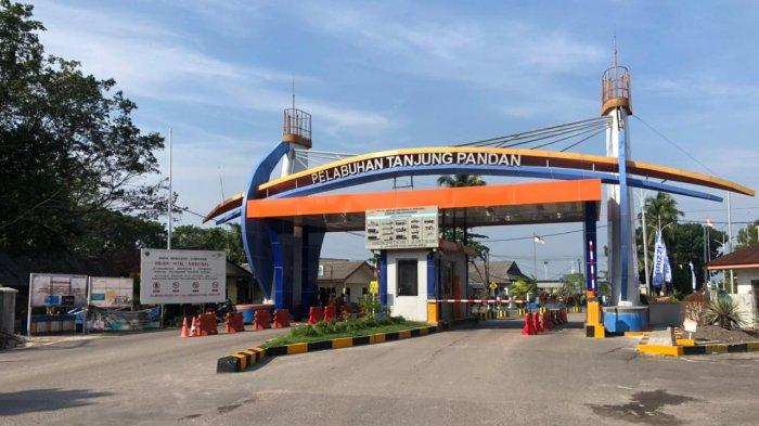 PT Pelindo II Tanjungpandan Terapkan Transaksi Non Tunai di Gerbang Masuk Pelabuhan