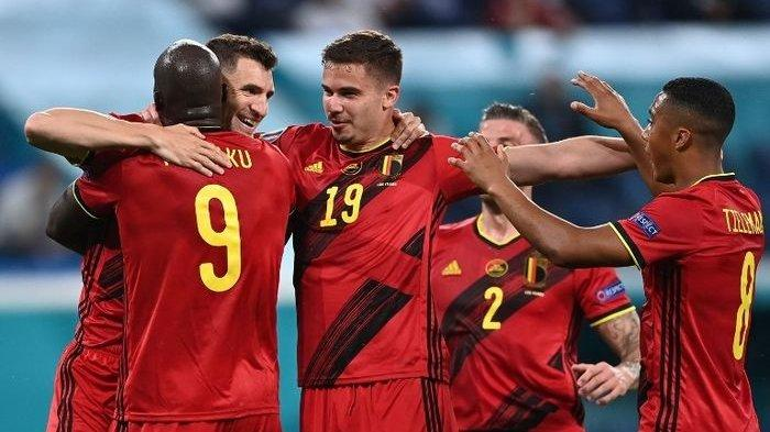 Klasemen EURO 2020 Belgia Puncaki Grup B Seusai Benamkan Rusia