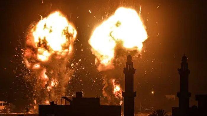Akibat Serangan Balon Pembakar Palestina, 20 Titik di Israel Terbakar, Dibalas dengan Serangan Udara