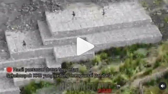 KKB Papua Lari Tunggang Langgang Ditembaki TNI-Polri, Tebangi Pohon Halangi Jalan Lalu Masuk Hutan