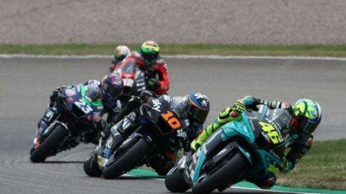 Valentino Rossi Tiba-Tiba Ngamuk Usai Finis ke 14 di MotoGP Jerman, Tak Terima Ditanya Soal Ini