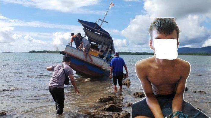Tiga Kali Mendekam di Lapas Cerucuk, Abdul Berulah Lagi Curi Perahu Milik Nelayan Kelapa Kampit