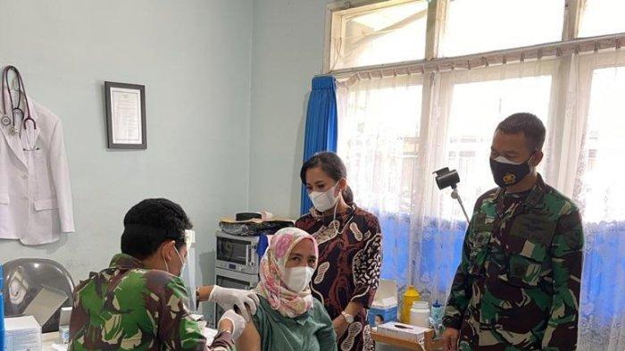 Komandan Lanud HAS Hanandjoeddin Dukung Upaya Penanganan Covid-19