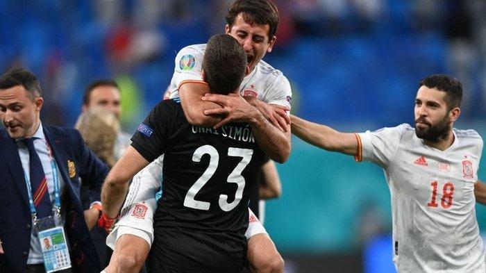 Hasil Perempat Final EURO 2020, Spanyol Masuk Semifinal Usai Kalahkan Swiss Lewat Adu Penalti