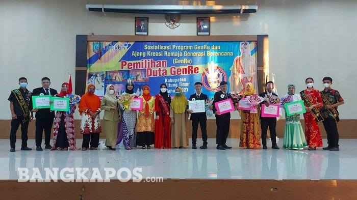 Yurico dan Lale Terpilih Jadi Duta Genre Belitung Timur 2021