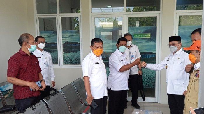 Erzaldi dan Sanem Pastikan Kesiapan PCR di RS Marsidi Judono