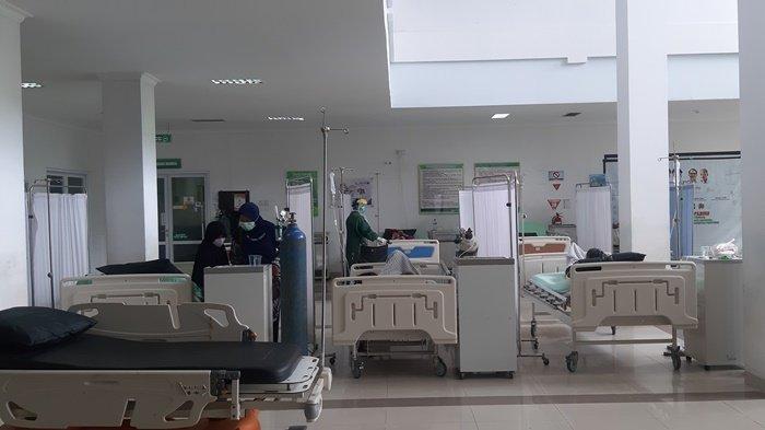 Pasien Covid-19 di RSUD Marsidi Judono Bertambah 57 Orang, Ruang Isolasi Tambahan Langsung Terpakai