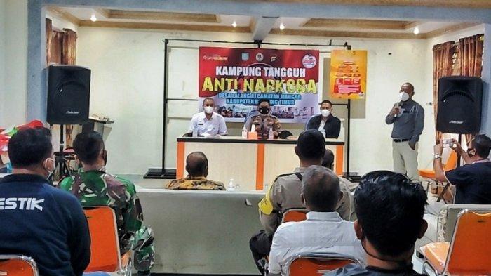 Lima Tahun Bebas Narkoba, Desa Lalang Jadi Kampung Tangguh Anti Narkoba di Belitung Timur