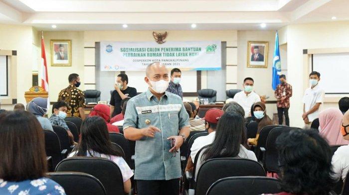 170 Rumah Tak Layak Huni di Pangkalpinang Dibenahi, Wali Kota Molen: Ubah Wajah Ibu Kota Makin Baik