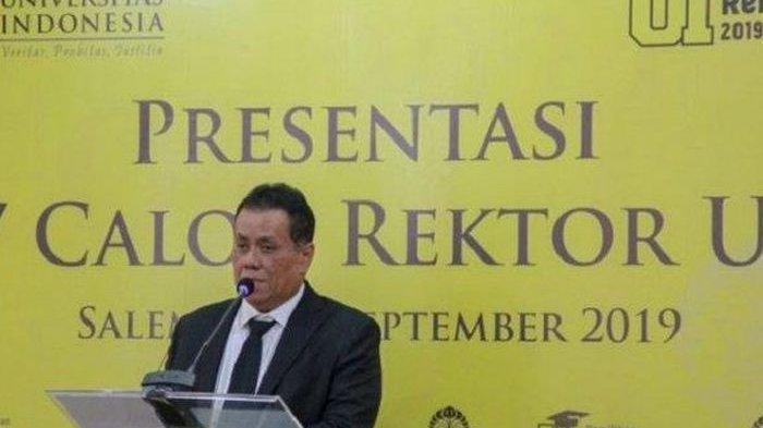 Sosok Ari Kuncoro, Izin Khusus dari Jokowi Boleh Rangkap Jabatan, Rektor UI dan Wakil Komut BUMN