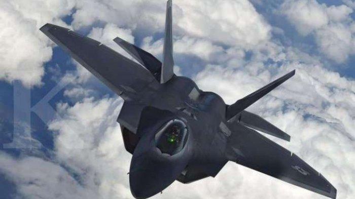 Ketegangan AS dan China Meningkat, Dua Lusin F-22 Raptor AS Tiba di Guam