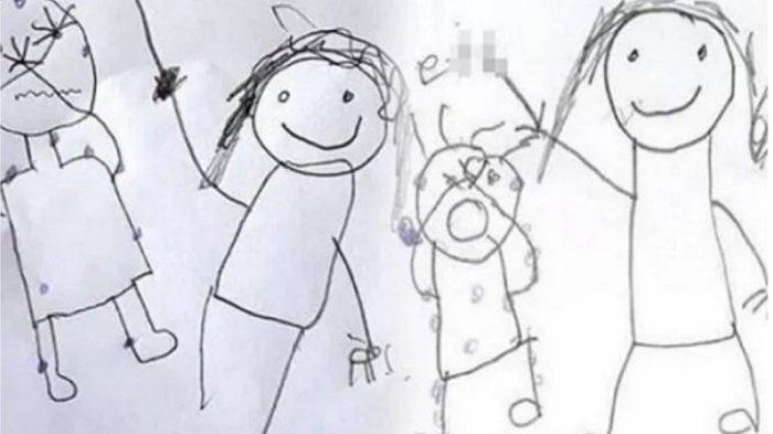 Gambar Ini Ungkap Kekejaman Orang Tua, Dua Anaknya Disiksa Secara Brutal, Dijual ke Pria Pedofilia