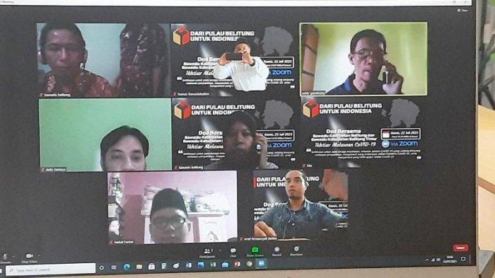 Dari Pulau Belitung untuk Indonesia, Bawaslu Beltim dan Belitung Doa Bersama Virtual Lawan Covid-19