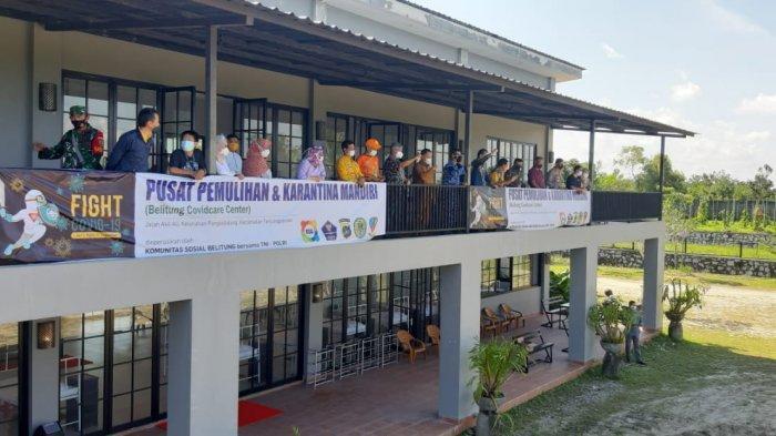 Komunitas Sosial Belitung Ubah Villa Jadi Gedung Pusat Penyembuhan dan Karantina Covid-19