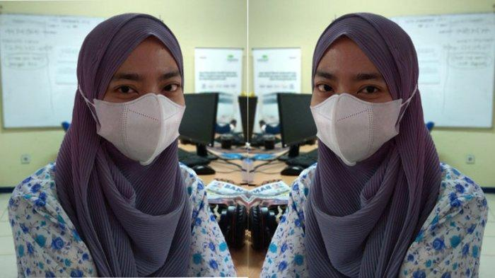 Emak-emak Bangka Ini Jarang ke Pasar hingga Konsisten Pakai Masker Demi Cegah Covid-19