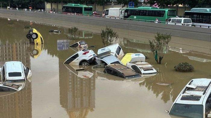 Investasi Rp118 Triliun 'Kota Spons' Tak Mampu Bendung Banjir China hingga Alami Kerusakan Parah