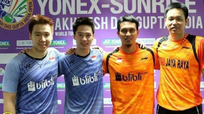 Peluang Final Bulutangkis Sesama Indonesia, Kevin/Marcus vs Ahsan/Hendra Bakal Berebut Juara