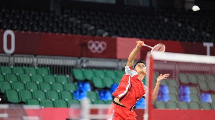 Sukses Kalahkan Kanta Wakil Jepang, Anthony Ginting Ditantang Anders Antonsen di Perempat Final