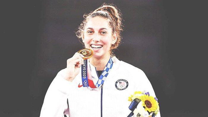 Anastasija Zolotic, Taekwondoin Perempuan Pertama Ukir Dua Sejarah di Olimpiade Tokyo 2020