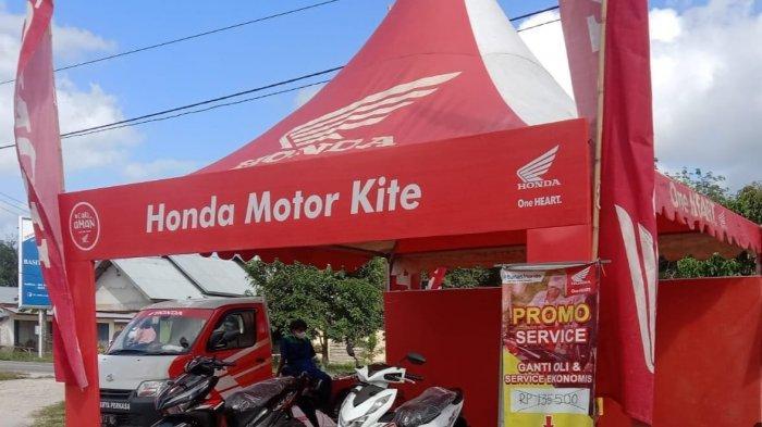 Service Ekonomis di Pasar Membalong Honda ASP Belitung