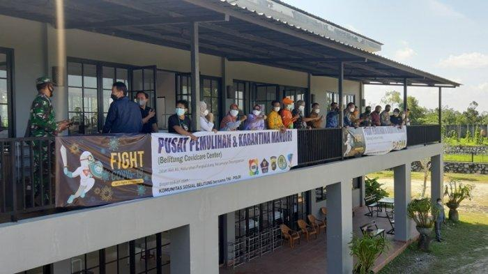KSB dan BBB Akan Usulkan Gedung PPKM Jadi RS Darurat Covid-19 Di Belitung