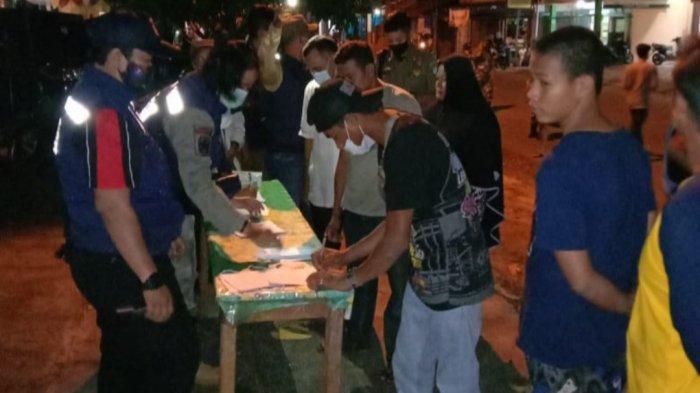 68 Warga Kelapa Kampit Belitung Timur Terjaring Razia Protokol Kesehatan Covid-19