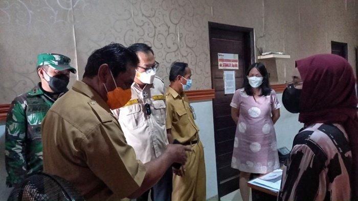 Forkopimda Belitung Tinjau Rumah Sakit dan Klinik yang Melakukan Swab Antigen Guna Sikronisasi Data