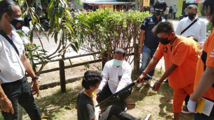 Usai Rekontruksi Kasus Pembunuhan Tanjung Binga, Jaksa Tunggu Berkas Pemeriksaan Dari Kepolisian