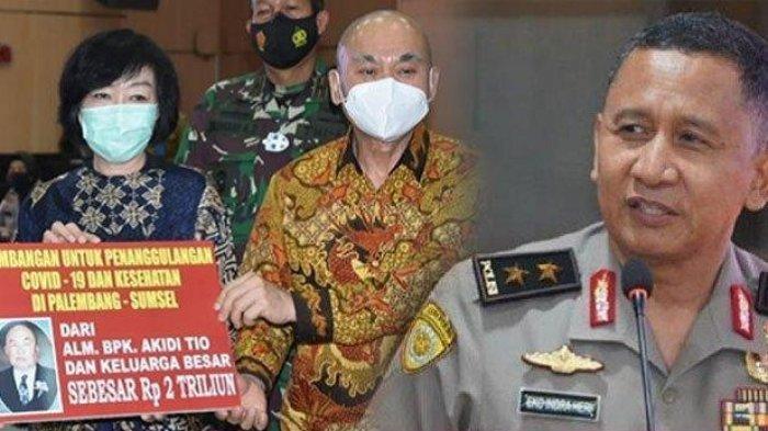 Gaduh Sumbangan Rp 2 Triliun Akidi Tio, IPW Minta Kapolri Copot Kapolda Sumsel dari Jabatan