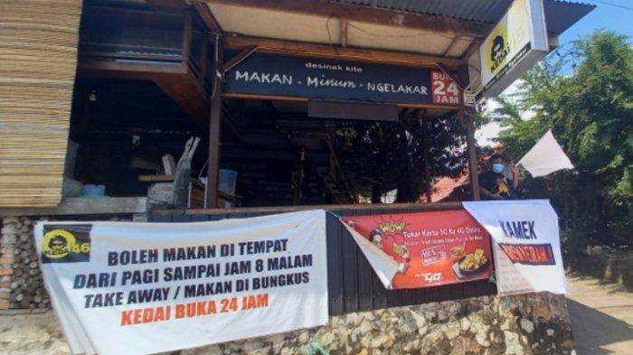 Kedai 46 di Belitung Kibarkan Bendera Putih, Pendapatan Turun 70 Persen Sejak PPKM Level 4