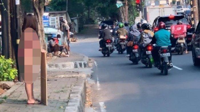 Nggak Ada Malunya, Dinar Candy Kayak Orang Gila Pakai Bikini Berdiri di Pinggir Jalan, Ngaku Stres