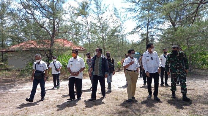 Bumi Perkemahan Gusong Bugis akan Jadi Lokasi Isoter, Wagub Bangka Belitung Lakukan Koordinasi