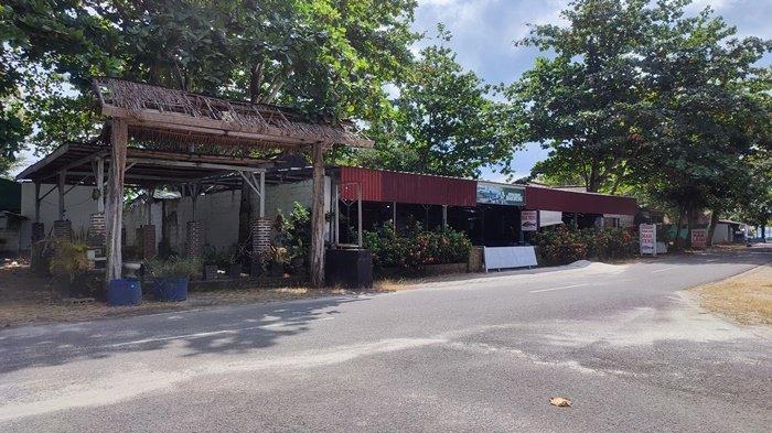 PPKM Diperpanjang Penyewa Tempat Usaha di Tanjung Pendam Merana,Ditaksir Kerugian Sebulan Rp 50 Juta