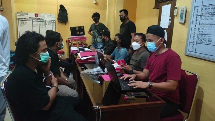 Kurang dari 24 Jam, Tim Satam Squad Opsnal Satreskrim Polres Belitung Bekuk Dua Pelaku Pencurian