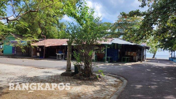 Penutupan Kawasan Wisata Tanjungpendam Berimbas ke Pemilik Warung Makan,Begini Respon Sanem
