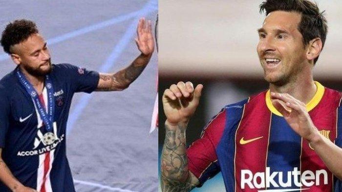 Lionel Messi Pindah ke PSG Terima Ajakan Neymar, Presiden Barcelona: Messi Punya Banyak Pilihan