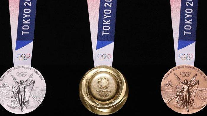Uniknya Medali Olimpiade Tokyo 2020, Terbuat dari Limbah Elektronik yang Dikumpulkan Selama 2 Tahun