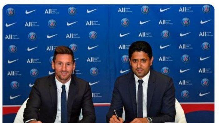 RESMI, Lionel Messi Bergabung ke Paris Saint-Germain, Kontrak 2 Tahun Bayaran Lebih Murah dari Barca