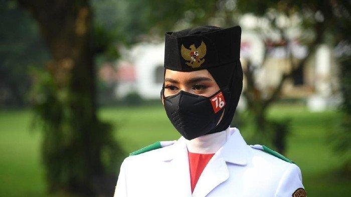 Biodata Ardelia Muthia Zahwa, Siswi Asal Medan Pembawa Baki Bendera Upacara HUT ke 76 RI