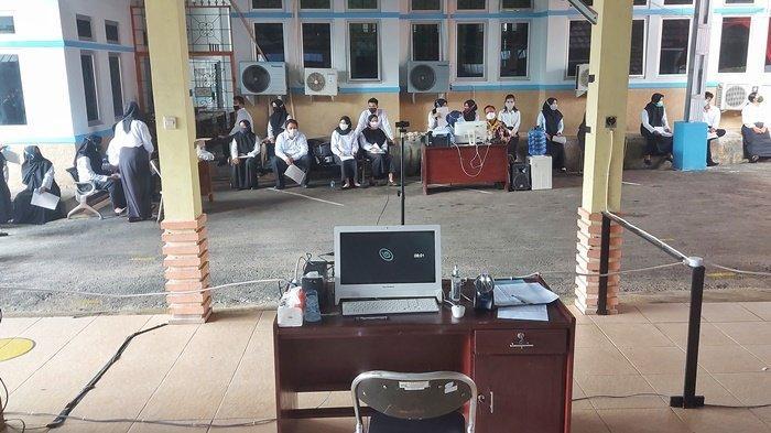Lebih 1 Jam Menunggu,Sistem Face Recognition Error, Pelaksanaan Seleksi CPNS di Belitung Timur Molor