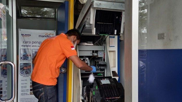 BREAKING NEWS, Bikin Geger ATM Bank BUMN di Kelapa Kampit Belitung Timur Dirusak OTD, Posisi Terbuka